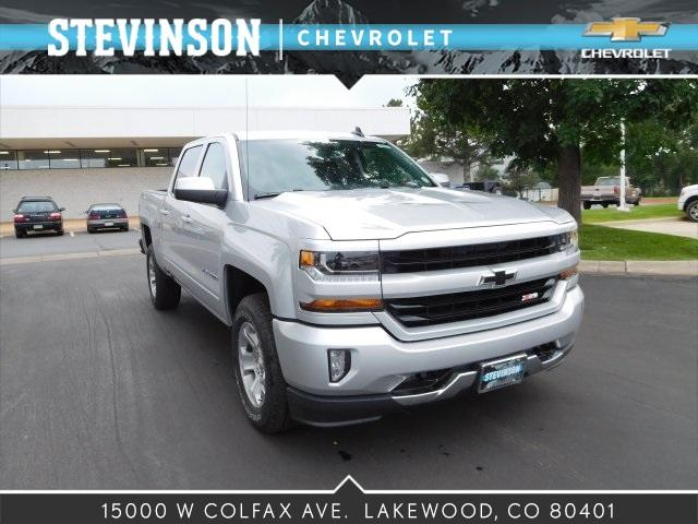 2018 Silverado 1500 Crew Cab 4x4 Pickup #85081 - photo 1
