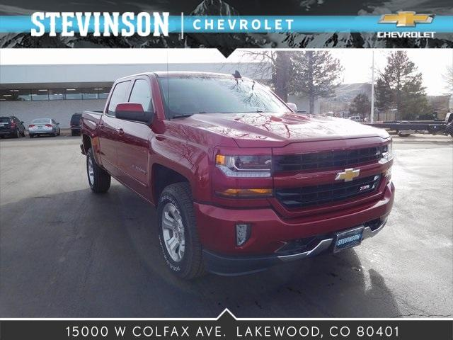 2018 Silverado 1500 Crew Cab 4x4, Pickup #85332 - photo 1