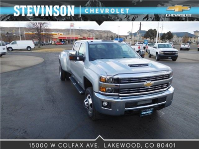 2018 Silverado 3500 Crew Cab 4x4, Pickup #85402 - photo 1