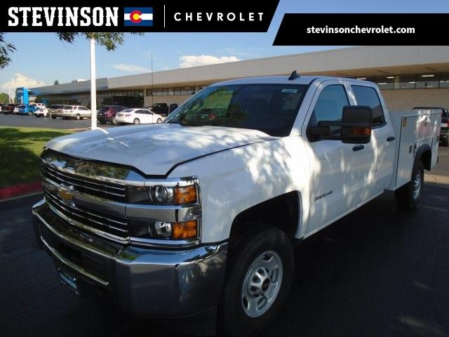 2018 Silverado 2500 Crew Cab 4x4,  Service Body #85805 - photo 1