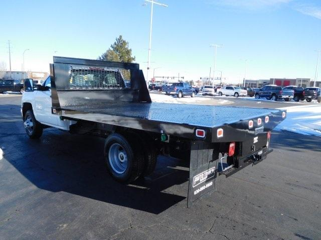 2019 Silverado 3500 Regular Cab DRW 4x4,  Platform Body #95415 - photo 5