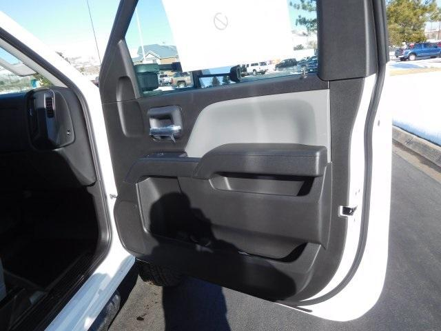 2019 Silverado 3500 Regular Cab DRW 4x4,  Platform Body #95415 - photo 9