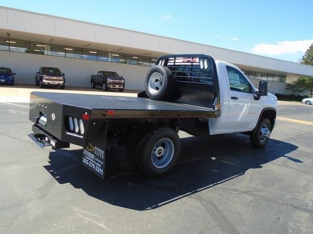2020 Chevrolet Silverado 3500 Regular Cab DRW 4x4, CM Truck Beds Platform Body #L5523 - photo 1