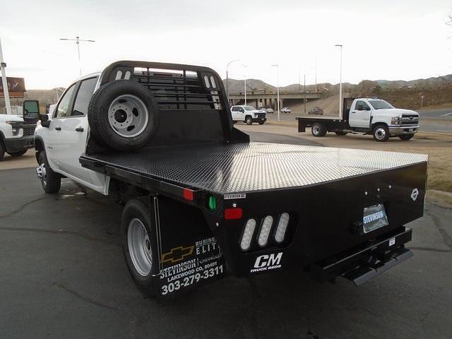 2021 Chevrolet Silverado 3500 Crew Cab 4x4, CM Truck Beds Platform Body #M5224 - photo 1