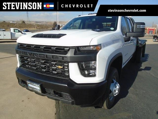 2021 Chevrolet Silverado 3500 Crew Cab 4x4, CM Truck Beds Platform Body #M5226 - photo 1