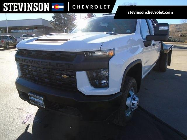 2021 Chevrolet Silverado 3500 Crew Cab 4x4, CM Truck Beds Platform Body #M5227 - photo 1