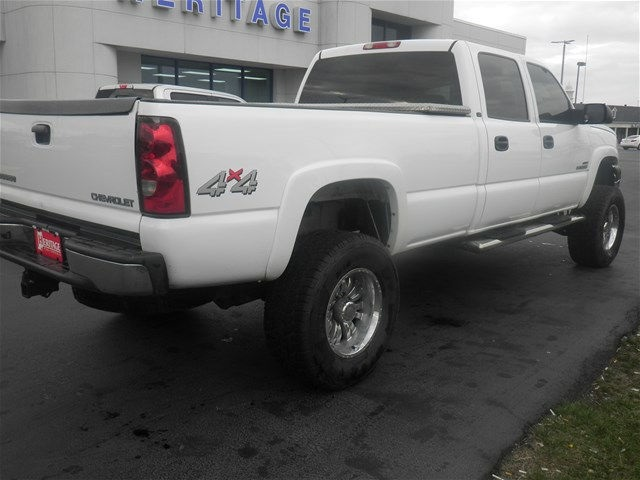 2005 Silverado 2500 Crew Cab 4x4, Pickup #F931272W - photo 9