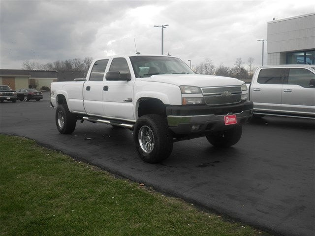 2005 Silverado 2500 Crew Cab 4x4, Pickup #F931272W - photo 11