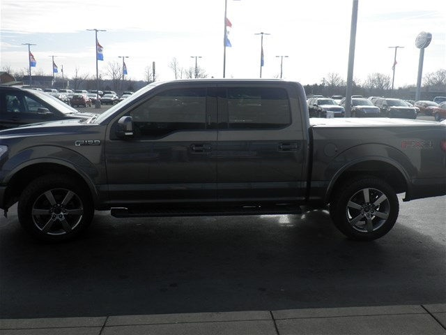 2015 F-150 SuperCrew Cab 4x4, Pickup #FA06937C - photo 9