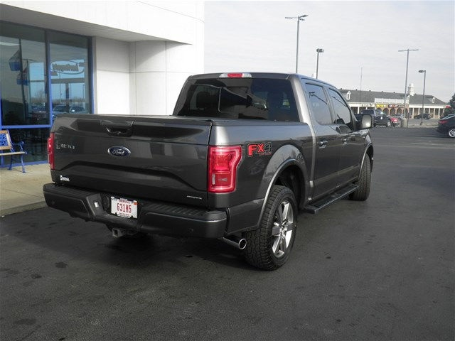 2015 F-150 SuperCrew Cab 4x4, Pickup #FA06937C - photo 2