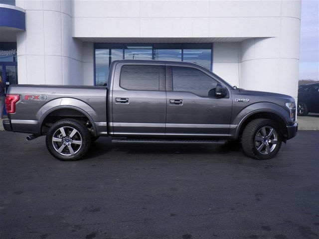 2015 F-150 SuperCrew Cab 4x4, Pickup #FA06937C - photo 3