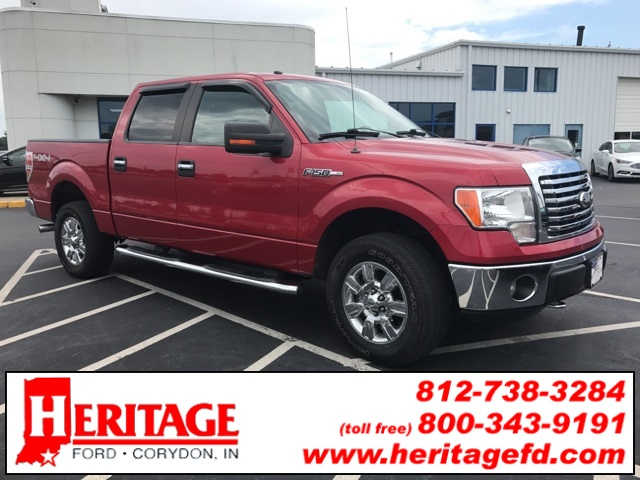 2012 F-150 SuperCrew Cab 4x4, Pickup #FA83884T - photo 5