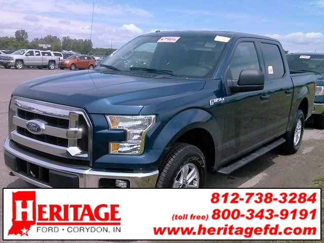 2015 F-150 SuperCrew Cab 4x4, Pickup #FA92464A - photo 5