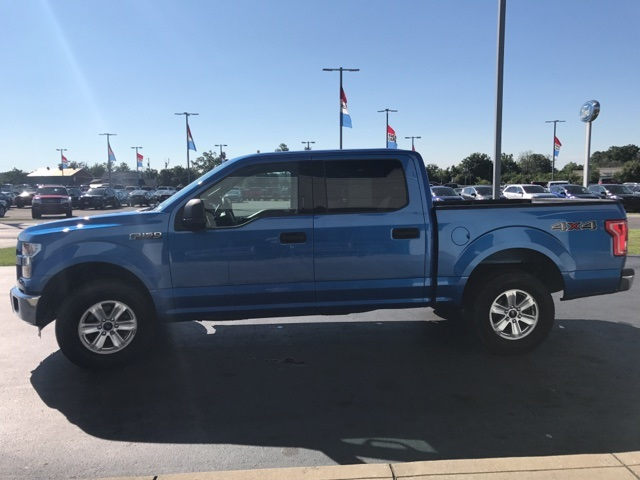 2015 F-150 SuperCrew Cab 4x4, Pickup #FB01767A - photo 24