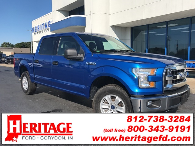 2015 F-150 SuperCrew Cab 4x4, Pickup #FB01767A - photo 4