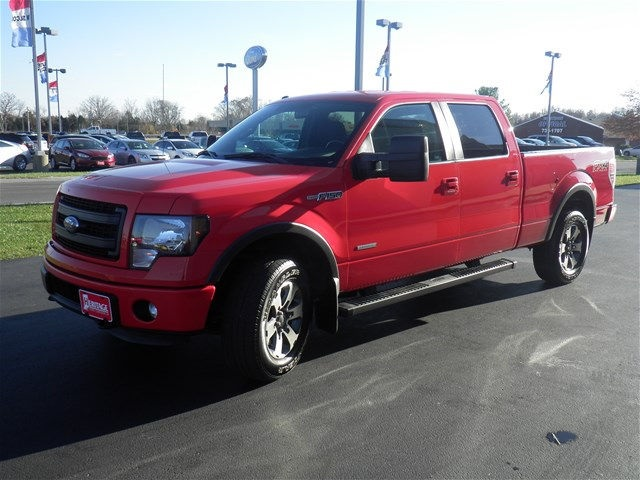 2014 F-150 SuperCrew Cab 4x4, Pickup #FB33913A - photo 4