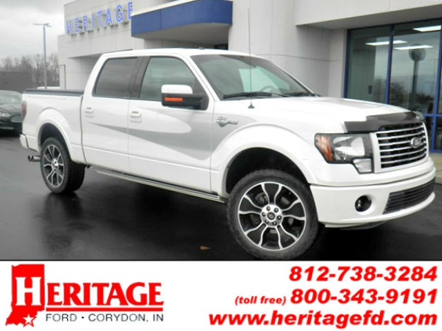 2012 F-150 SuperCrew Cab 4x4, Pickup #FB97829A - photo 1