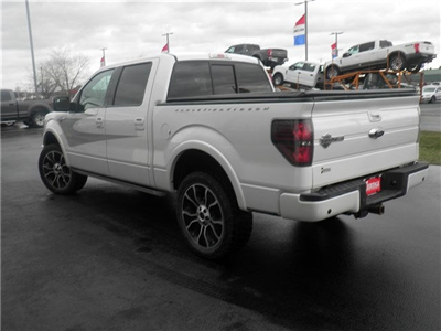 2012 F-150 SuperCrew Cab 4x4, Pickup #FB97829A - photo 9
