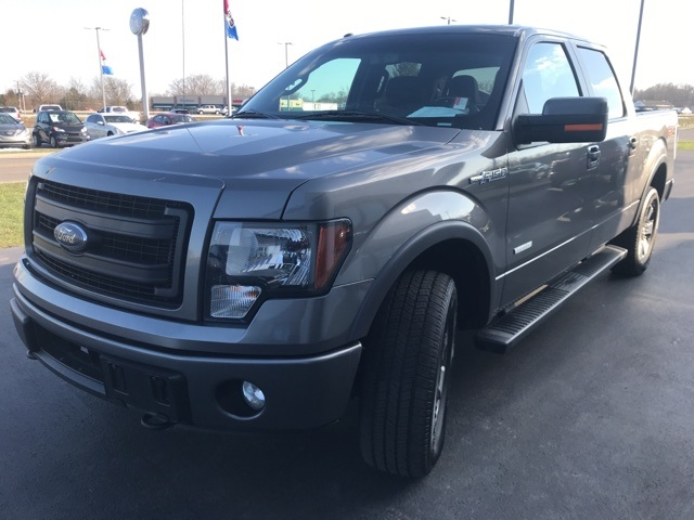 2014 F-150 SuperCrew Cab 4x4,  Pickup #FC02496P - photo 4