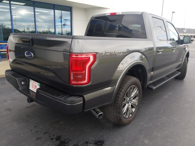 2016 F-150 SuperCrew Cab 4x4,  Pickup #FD39636P - photo 2