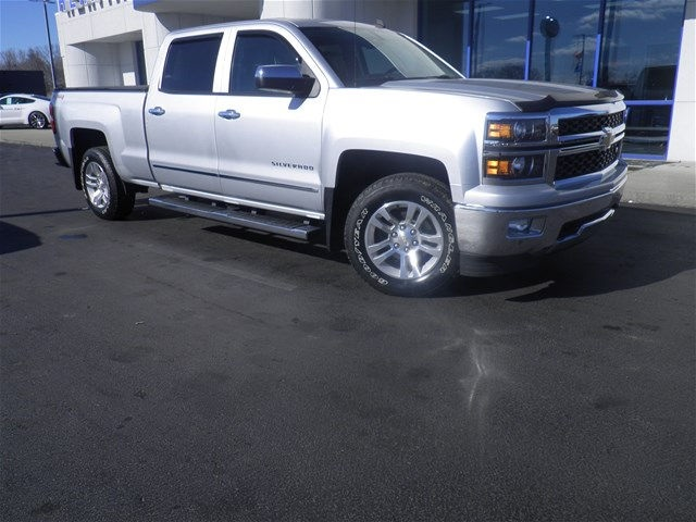 2014 Silverado 1500 Crew Cab 4x4, Pickup #G173742A - photo 8