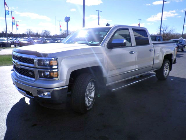 2014 Silverado 1500 Crew Cab 4x4, Pickup #G173742A - photo 9