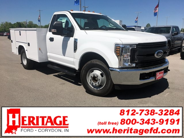 2018 F-350 Regular Cab DRW 4x2,  Knapheide Standard Service Body #JEB92898 - photo 1