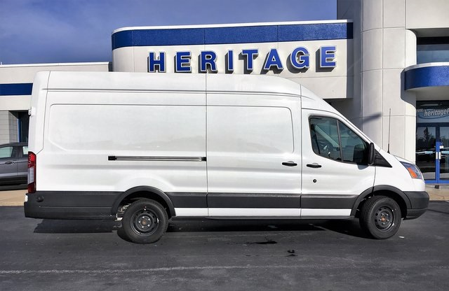 2018 Transit 350 High Roof 4x2,  Empty Cargo Van #JKB25736 - photo 10