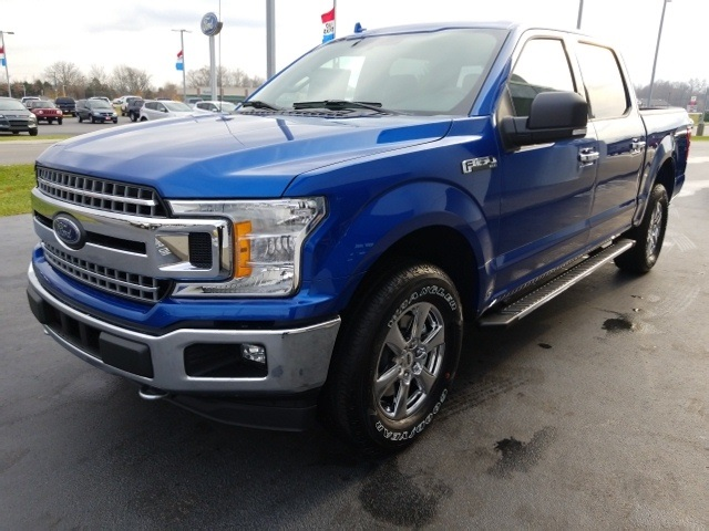 2018 F-150 Crew Cab 4x4 Pickup #JKC78940 - photo 4