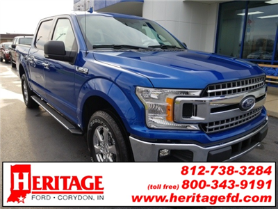 2018 F-150 Crew Cab 4x4 Pickup #JKC78940 - photo 1
