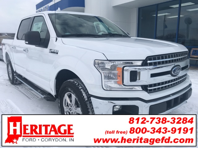 2018 F-150 Crew Cab 4x4 Pickup #JKD02073 - photo 1