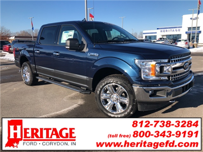 2018 F-150 Crew Cab 4x4, Pickup #JKD15610 - photo 1