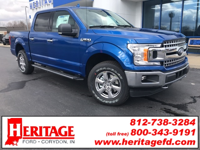 2018 F-150 SuperCrew Cab 4x4,  Pickup #JKD52012 - photo 1