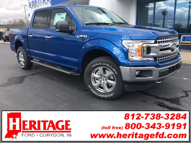 2018 F-150 SuperCrew Cab 4x4,  Pickup #JKD52012 - photo 3