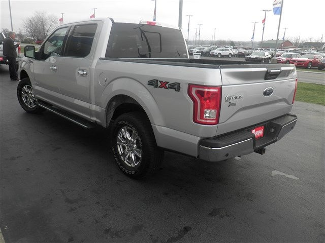 2015 F-150 SuperCrew Cab 4x4, Pickup #KD54517T - photo 4