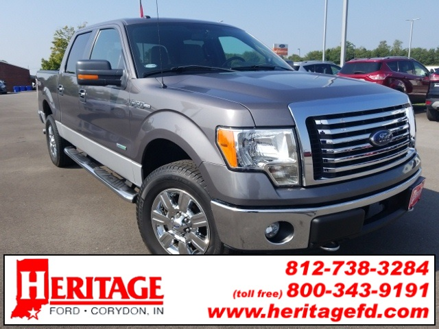 2012 F-150 Super Cab 4x4, Pickup #KE17299T - photo 3