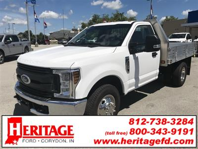 2019 F-350 Regular Cab DRW 4x2, Knapheide Platform Body #KED72951 - photo 3