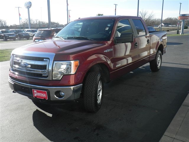2014 F-150 SuperCrew Cab 4x4, Pickup #KF48635A - photo 3