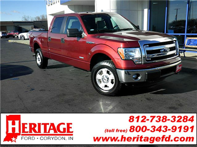 2014 F-150 SuperCrew Cab 4x4, Pickup #KF48635A - photo 1
