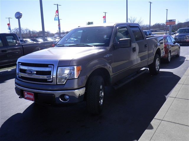 2014 F-150 SuperCrew Cab 4x4, Pickup #KF64771A - photo 4
