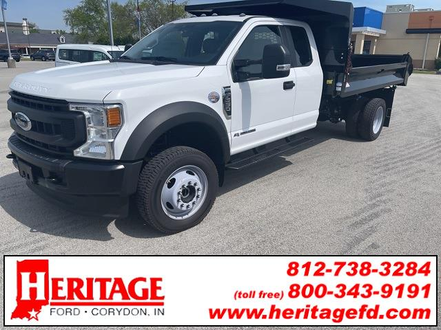 2020 Ford F-550 Super Cab DRW 4x4, Cab Chassis #LEE54113 - photo 1