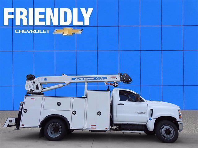 2019 Chevrolet Silverado 5500 Regular Cab DRW 4x2, Auto Crane Mechanics Body #KH609227 - photo 1