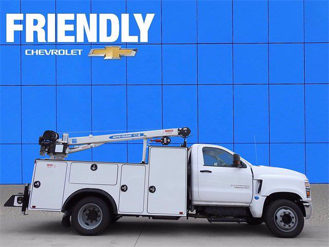 2019 Chevrolet Silverado 5500 Regular Cab DRW 4x2, Auto Crane Mechanics Body #KH862766 - photo 1
