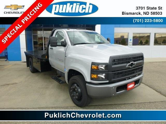 2019 Chevrolet Silverado Medium Duty Regular Cab DRW 4x2, CM Truck Beds Platform Body #WK036 - photo 1