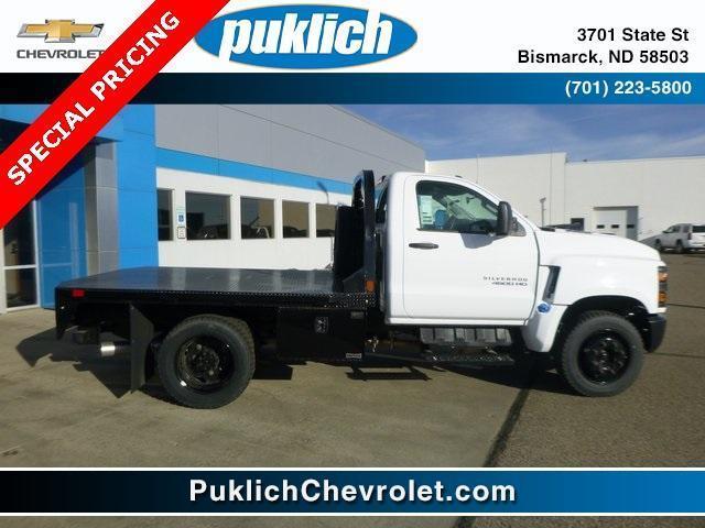 2019 Chevrolet Silverado Medium Duty Regular Cab DRW 4x2, CM Truck Beds Platform Body #WK038 - photo 1