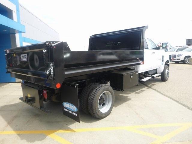 2020 Chevrolet Silverado Medium Duty Crew Cab DRW 4x4, Monroe Dump Body #WL022 - photo 1