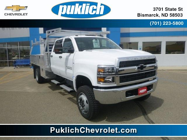 2020 Chevrolet Silverado Medium Duty Crew Cab DRW 4x4, Contractor Body #WL023 - photo 1