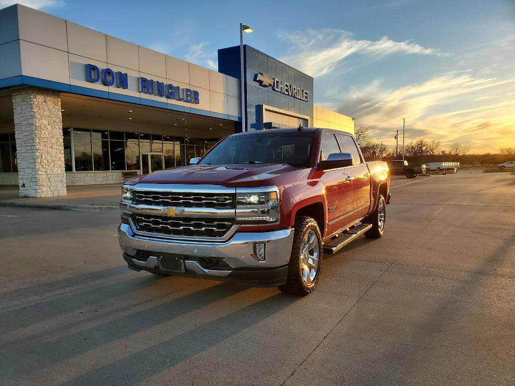 2018 Chevrolet Silverado 1500 Crew Cab 4x2, Pickup #1-267A - photo 1