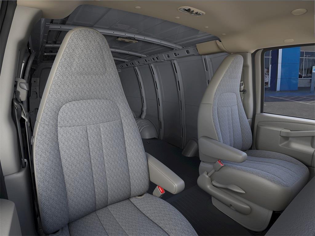 2021 Chevrolet Express 2500 4x2, Empty Cargo Van #ZBVX12 - photo 13
