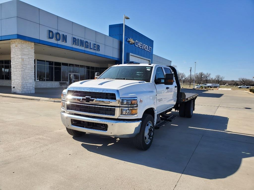 2020 Chevrolet Silverado 4500 Crew Cab DRW 4x2, Platform Body #C0-764 - photo 1